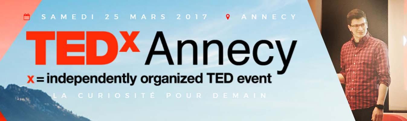 entête TEDx Annecy mickael bovagnet