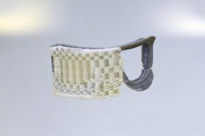 Notre réalisation : Masque de ski PLA Fusion Support à moitier dissoud Machine : SipderBot V3